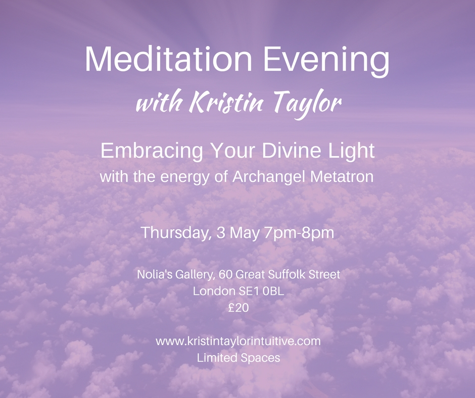 Meditation Night with Kristin Taylor 3 May