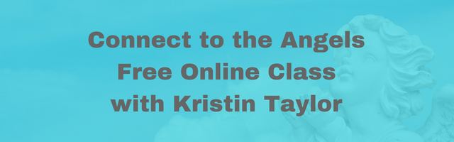 Learn to work with angels online course with Kristin Taylor